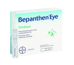 BEPANTHEN EYE SILMÄTIPAT X20X0,5 ML