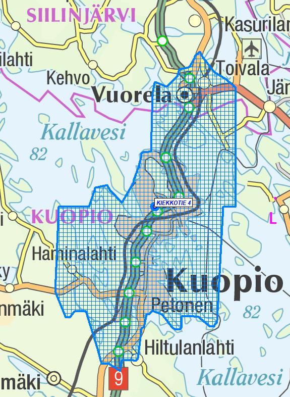 Kuopion netti apteekin toimitusalueet pikatoimituksella